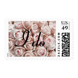 Hago por escardar rosa claro de los rosas del amor sellos