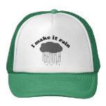 Hago que llueve gorras