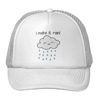 Hago que llueve la nube de tormenta linda gorras
