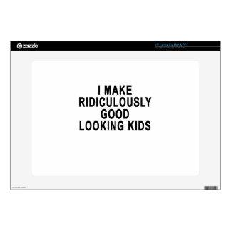 HAGO RIDÍCULO KIDS.png APUESTO Skins Para 38,1cm Portátil