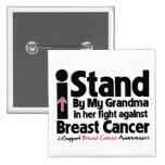 Hago una pausa a mi abuela - cáncer de pecho pins