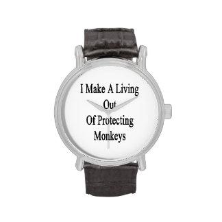 Hago una vida fuera de monos de protección