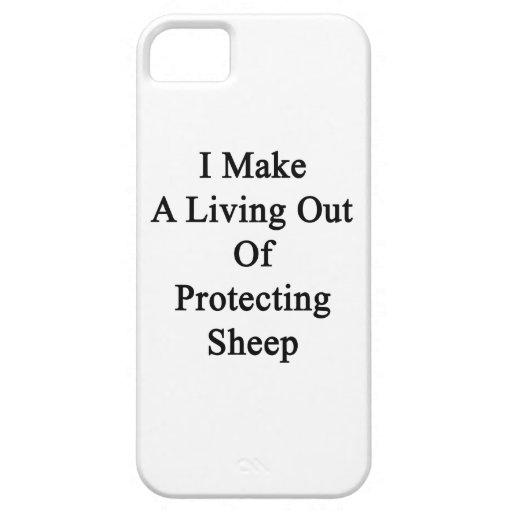 Hago una vida fuera de ovejas de protección iPhone 5 Case-Mate protectores