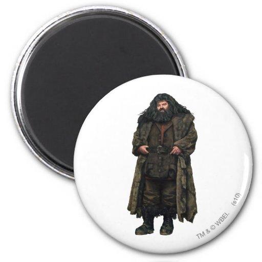 Hagrid 2 Inch Round Magnet