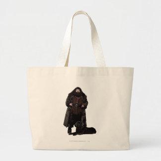 Hagrid and Dog Large Tote Bag
