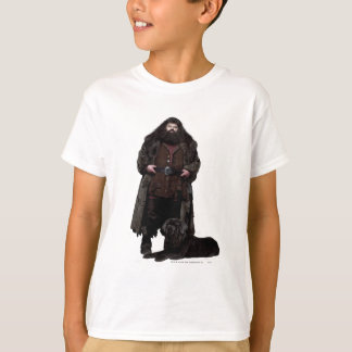 Hagrid and Dog T-Shirt