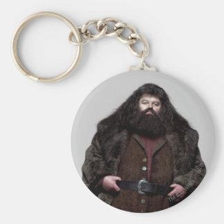 Hagrid y perro llavero redondo tipo pin