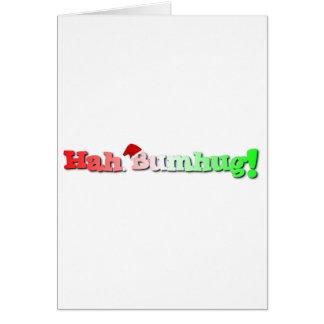 Hah bumhug! greeting card