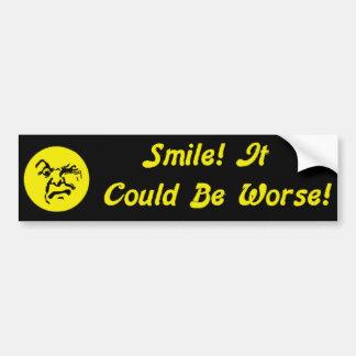 HaHa! Car Bumper Sticker