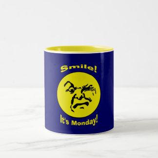 HaHa! Two-Tone Coffee Mug