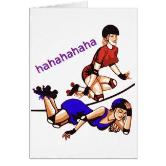 hahahahaha card