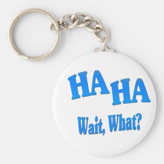 HaHaWaitWhat4 Keychains