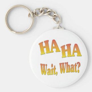HaHaWaitWhat6 Key Chain