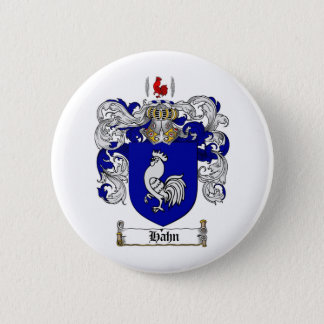 HAHN FAMILY CREST -  HAHN COAT OF ARMS BUTTON