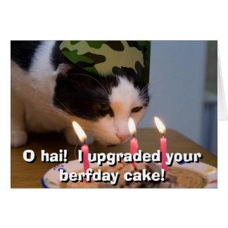 ¡Hai de O!  Aumenté su torta berfday Felicitaciones