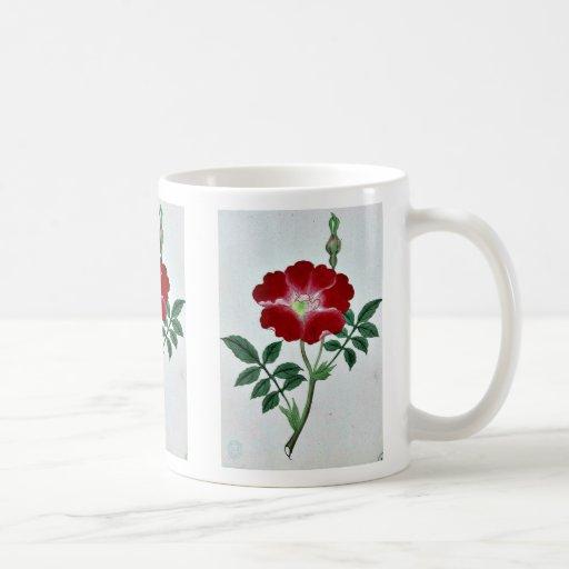 Hai kai kuwa - March-April Ukiyo-e. Classic White Coffee Mug