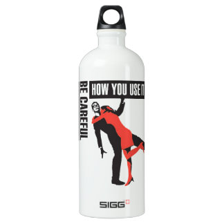 Hai Karate Be Careful How You Use It Water Bottle