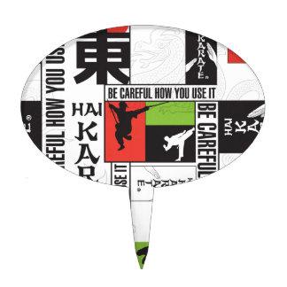Hai Karate Brand Page Cake Topper