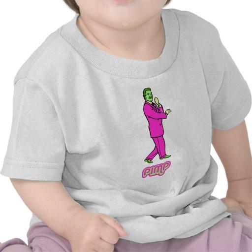 Hai Karate Pimp Gentleman Suave Cartoon Tshirt