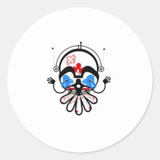 haida2 classic round sticker