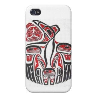 Haida Aboriginal Art Iphone Case