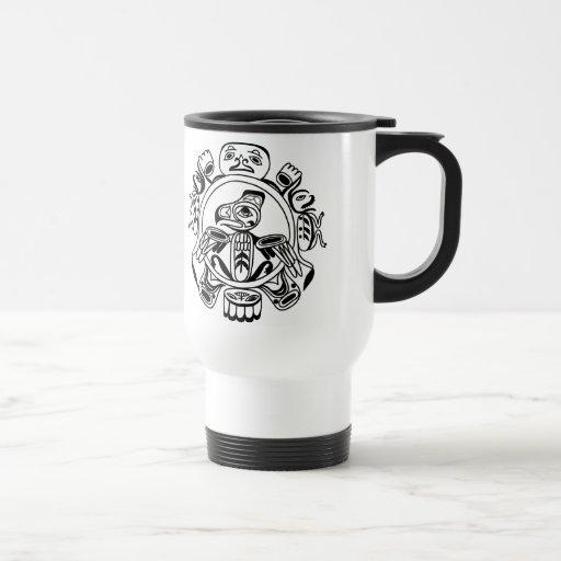 Haida Art - Nativive American Haidia Design Mugs
