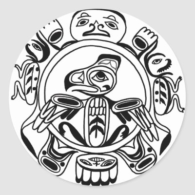 Haida Colouring Pages Sketch Coloring