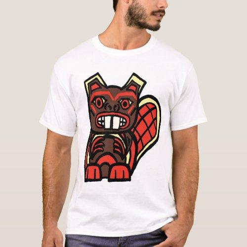 HAIDA BEAVER T_Shirt