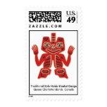 Haida Blanket Design Postage Stamps