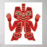 Haida Blanket Design, Poster