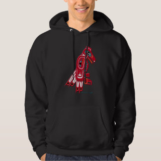 HAIDA EAGLE Collection Hooded Pullovers