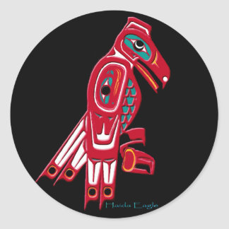 HAIDA EAGLE Collection Stickers
