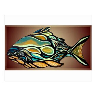 Haida Fish Postcard