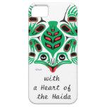 Haida Frog iPhone 5 Case