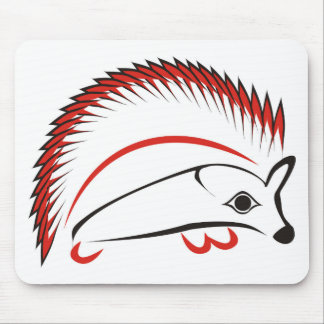 haida hog mouse pad