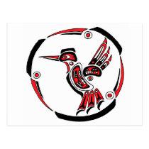 Haida Hummingbird Postcard