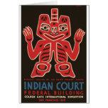 Haida Indians Card