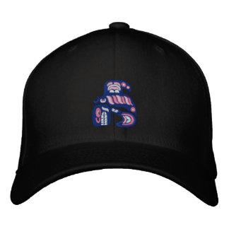 Haida killer whale embroidered baseball cap