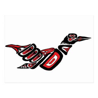 Haida Loon Postcard