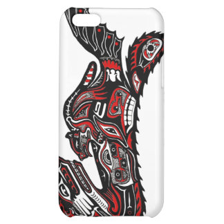 Haida Native American Otter Art iPhone Case Case For iPhone 5C
