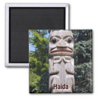 Haida Native American Totem Pole Art Magnet