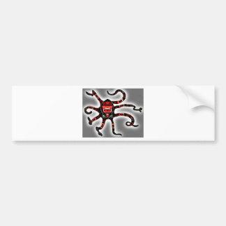Haida Octopi Bumper Sticker
