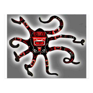 Haida Octopi Postcards