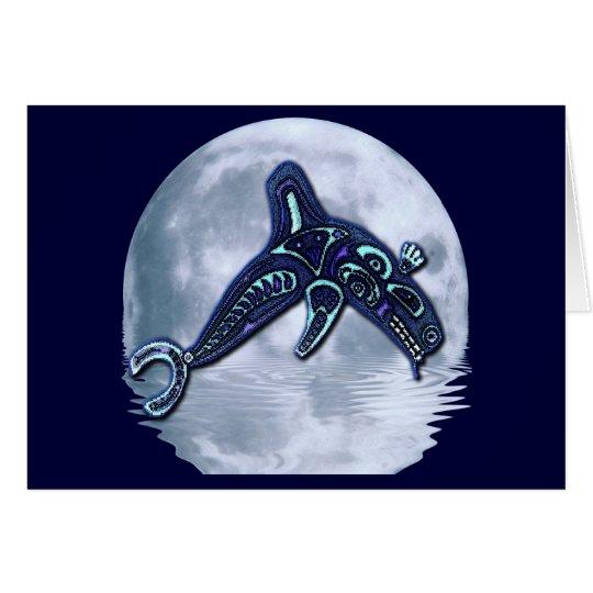 HAIDA ORCA Fantasy Wildlife Card Series