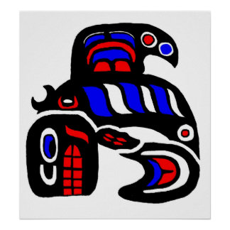 Haida Orca Poster