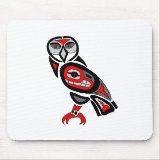 Haida Owl 2014 Mouse Pad