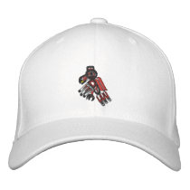 haida raven 2009 embroidered baseball cap