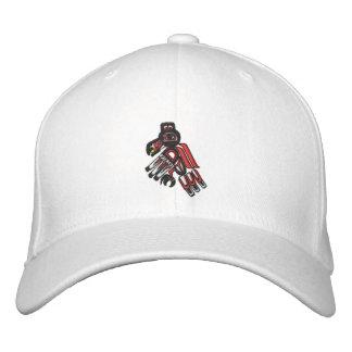 haida raven 2009 embroidered baseball cap