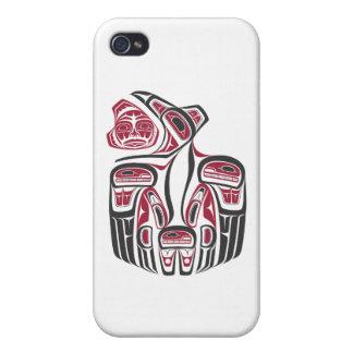 Haida Raven Design Cases For iPhone 4