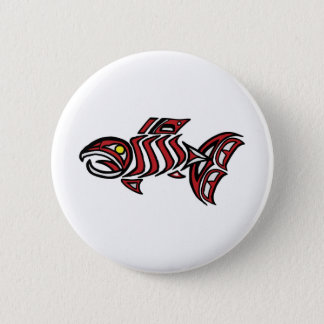 Haida salmon button